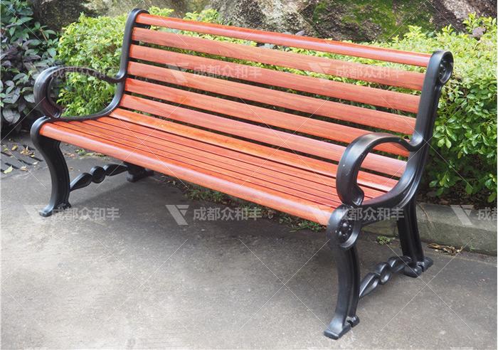 成都户外铸铁休闲椅Y-18175