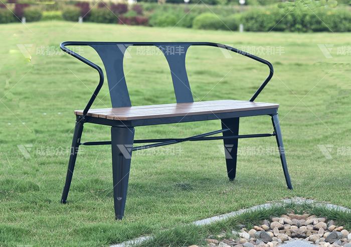 户外公园椅厂家怎么进行外观设计