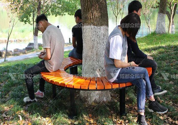 成都的休闲公园椅厂家工艺如何