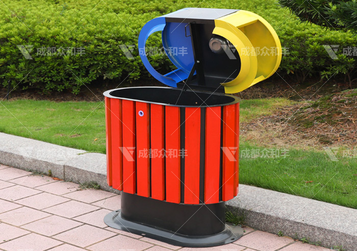 昭化区向户外分类垃圾桶厂家采购环卫果皮箱