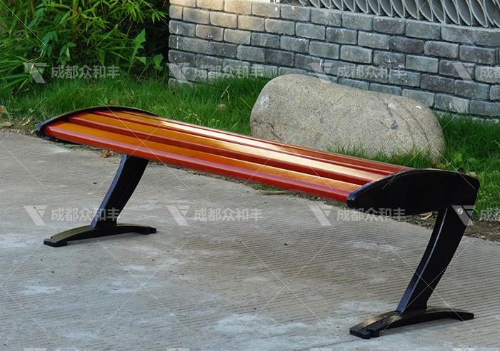 i成都道路公园椅