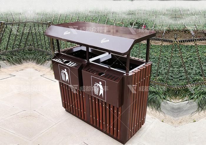 不锈钢户外垃圾桶
